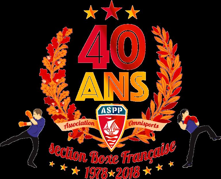 ASPP Boxe Française 40 ans