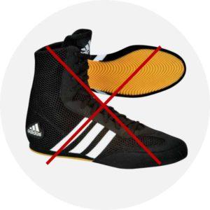 Adidas semelle claire NON