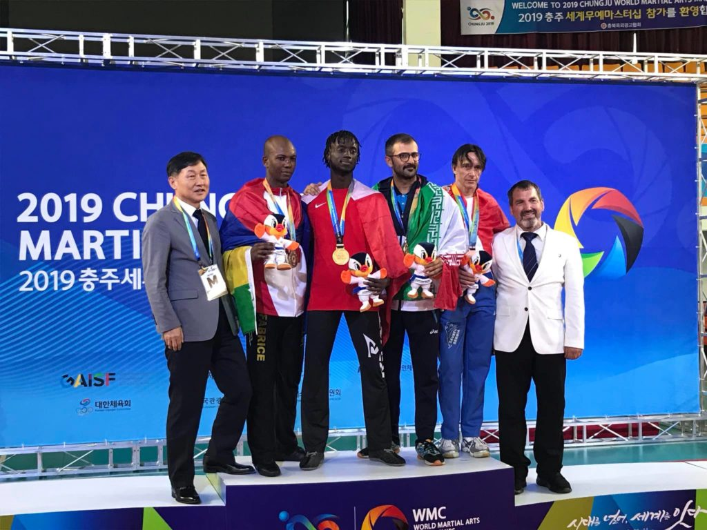 World Martial Arts Masterships Chungju 2019