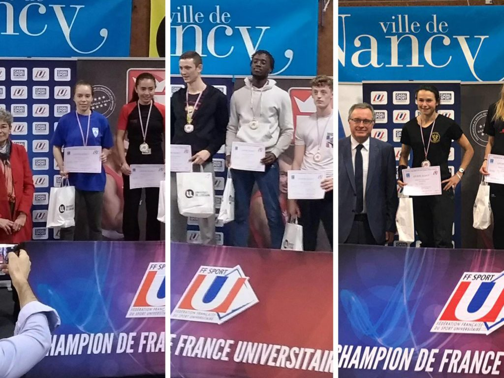 Champions de France Universitaire FFSU ASPP